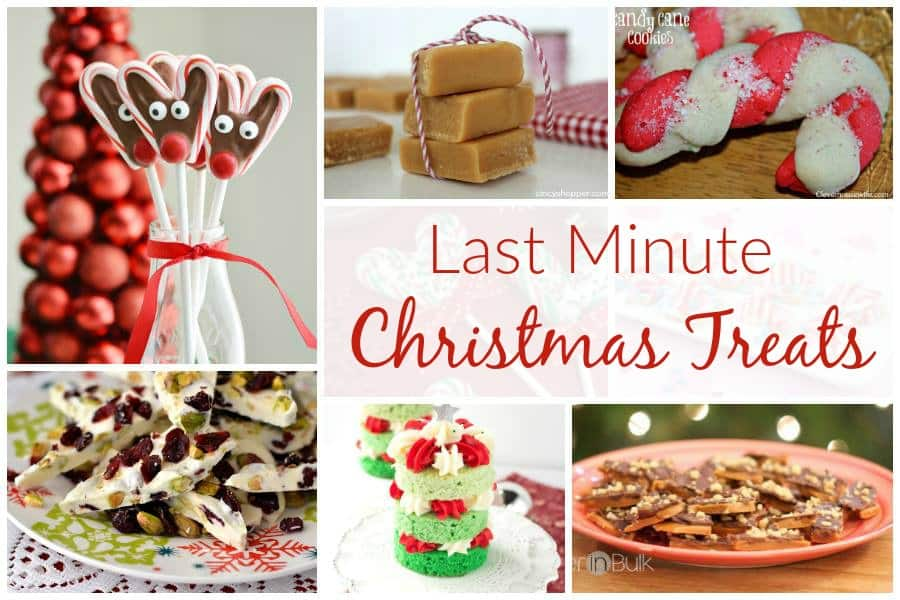 Last minute christmas treats and delicious dishes recipe party for Last minute party food