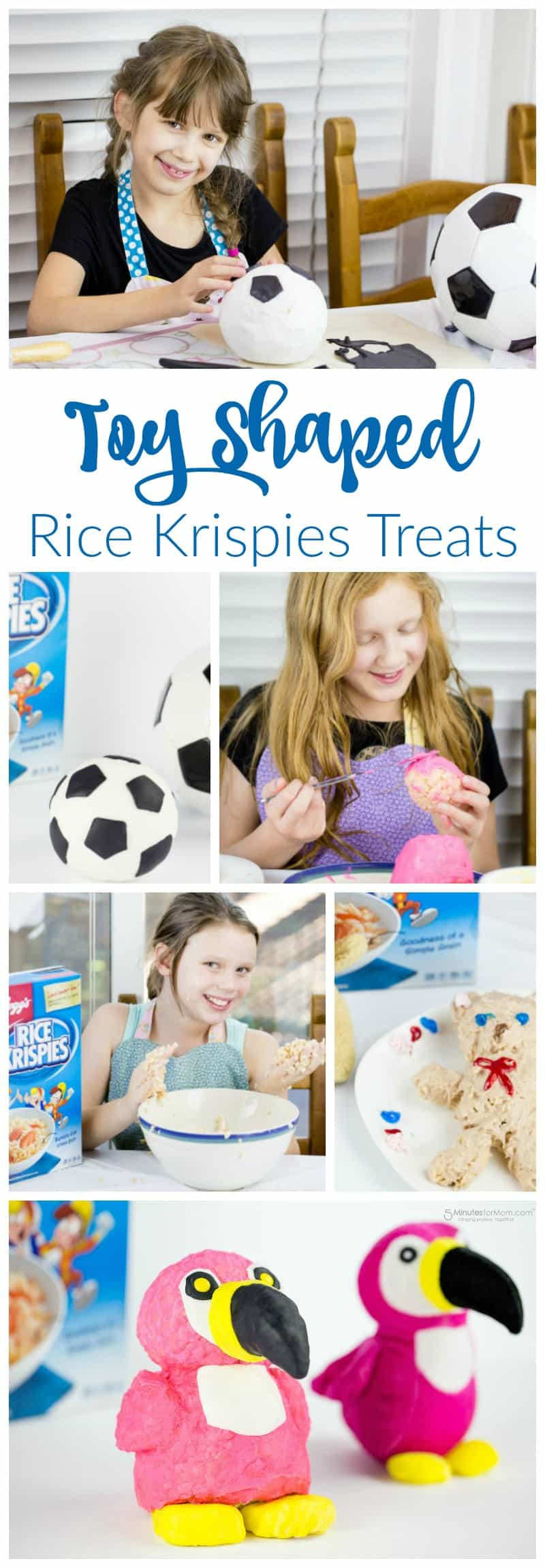 Toy Shaped Rice Krispies Treats
