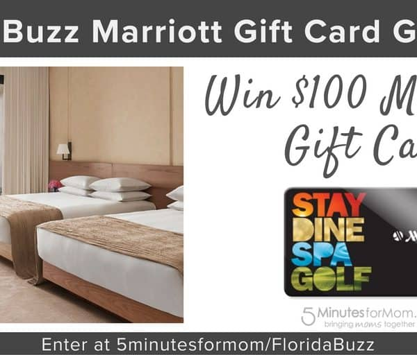"""Unwrap Sunshine"" $100 Marriott Gift Card Giveaway #FloridaBuzz"