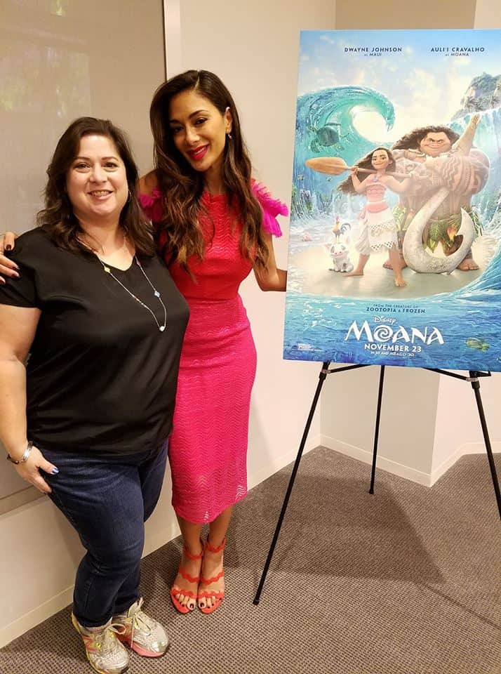 Interview with Nicole Scherzinger in Disney's Moana - with Dawn Cullo