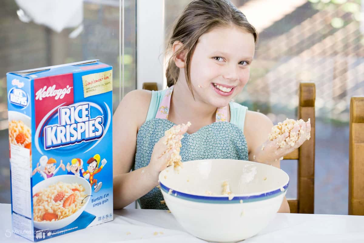 Rice Krispies Treats for Toys