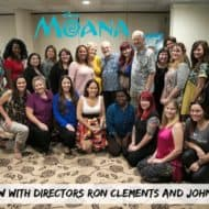 Interview with Golden Globe Nominees John Musker and Ron Clements – #MoanaEvent