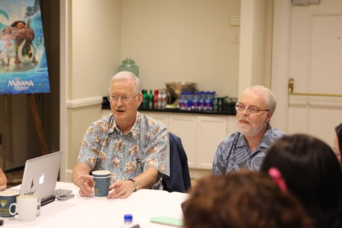 Ron Clements and John Musker - Directors of Moana - Blogger Interview
