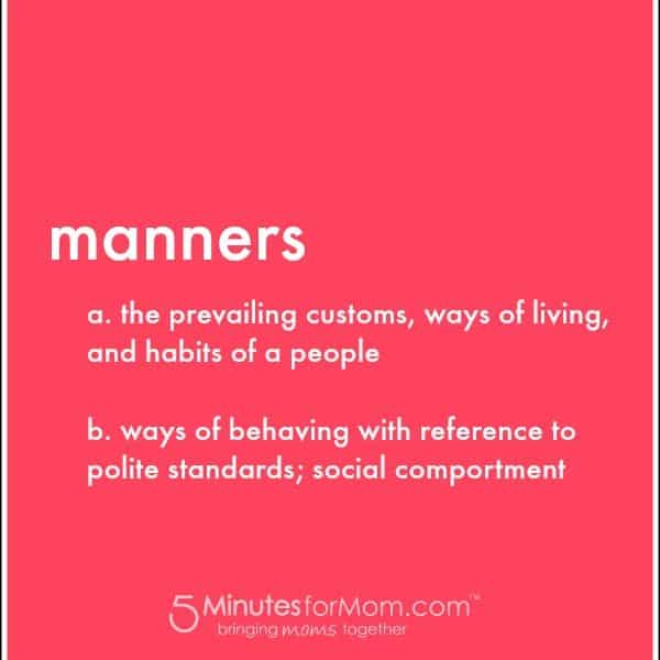 Manners All Tweens Should Know #GivePleaseAChance #Giveaway