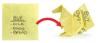 origami-sticky-notes