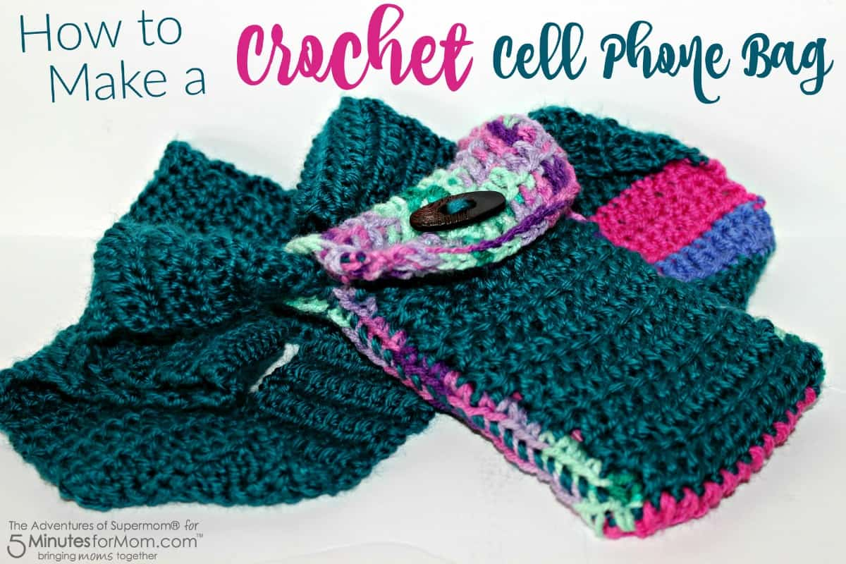 How to Make a Crochet Cell Phone Bag