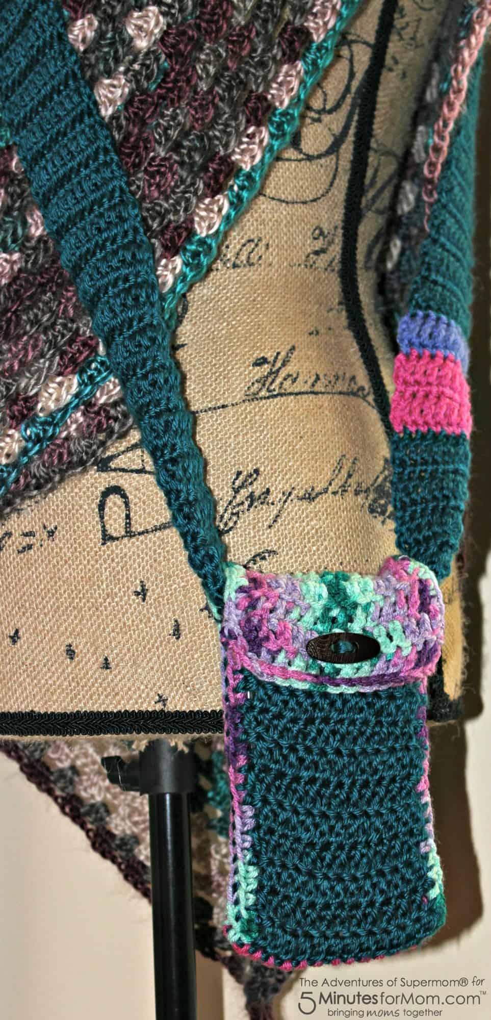 Crochet Phone Bag