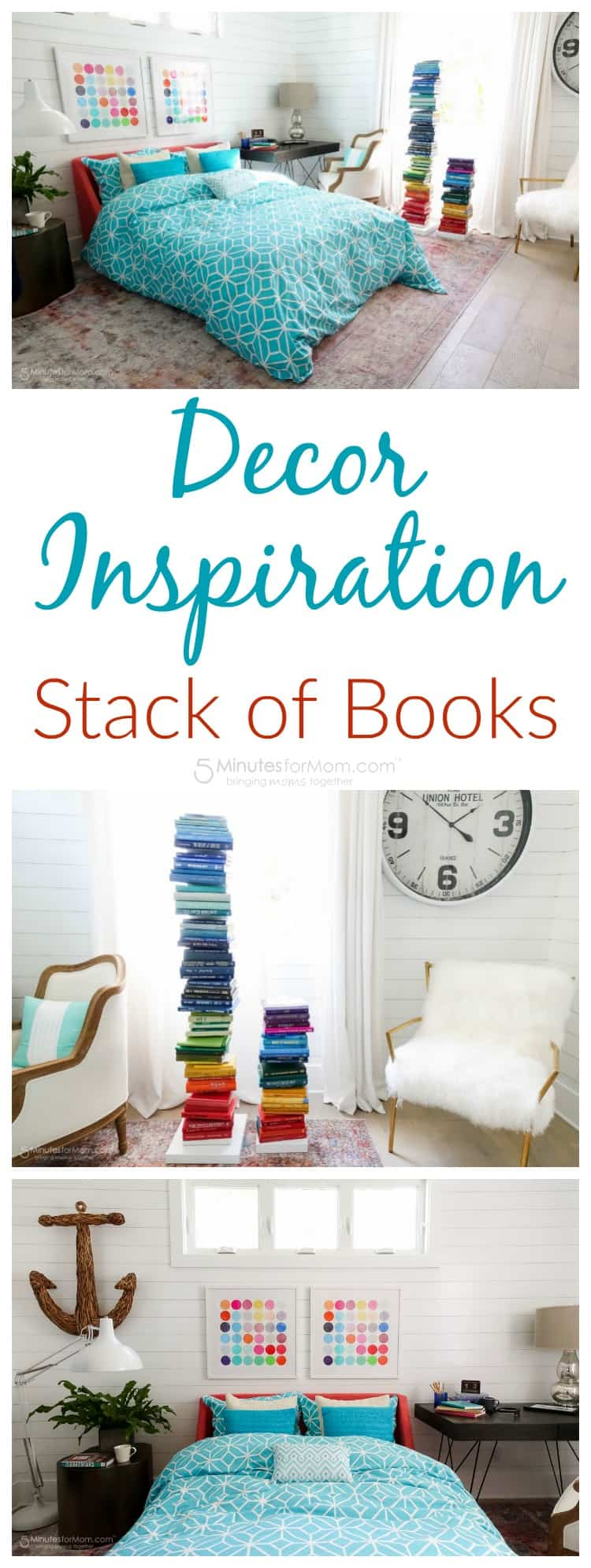 Decor Inspiration - Stack of Books