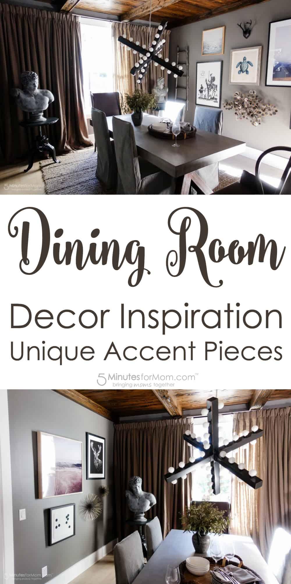 Dining Room Decor Inspiration - Unique Accent Pieces
