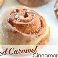 Salted Caramel Cinnamon Rolls Recipe