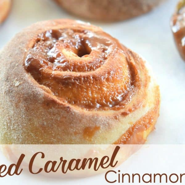 Salted Caramel Cinnamon Rolls Recipe