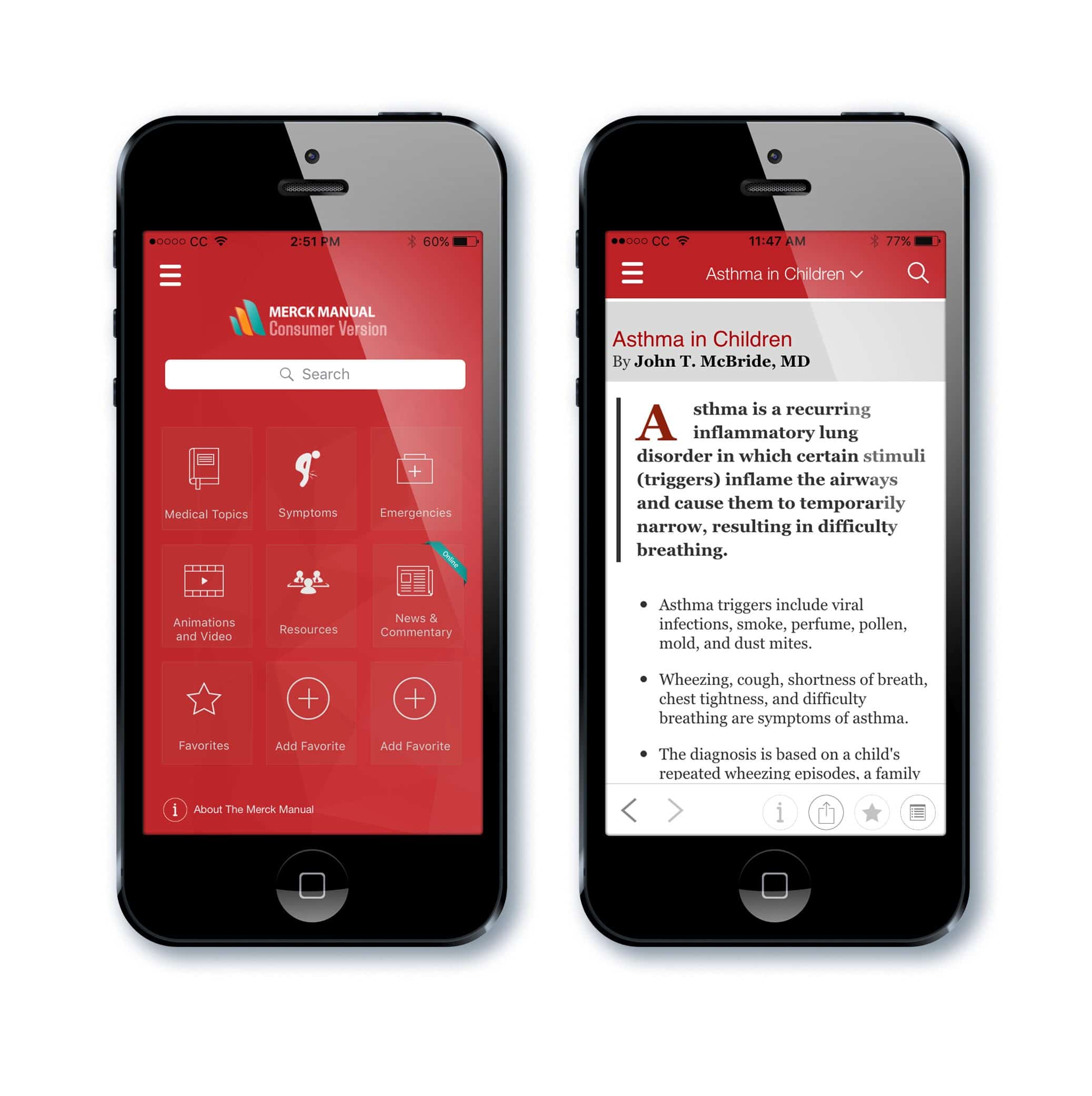 Merk Manual Consumer App