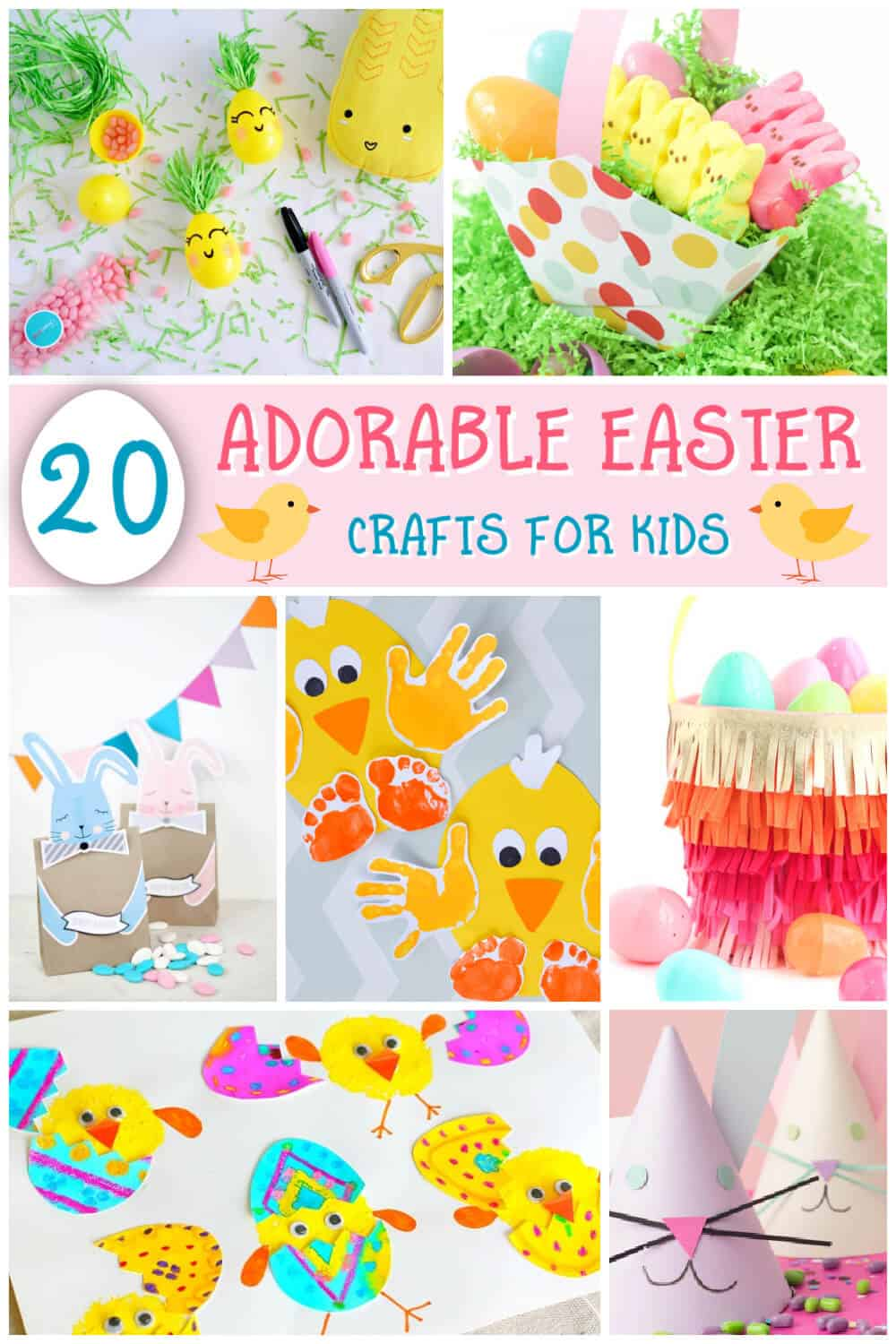 20 Easter Crafts For Kids - Easy Craft Ideas