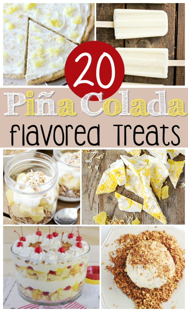 20 Pina Colada Flavored Treats