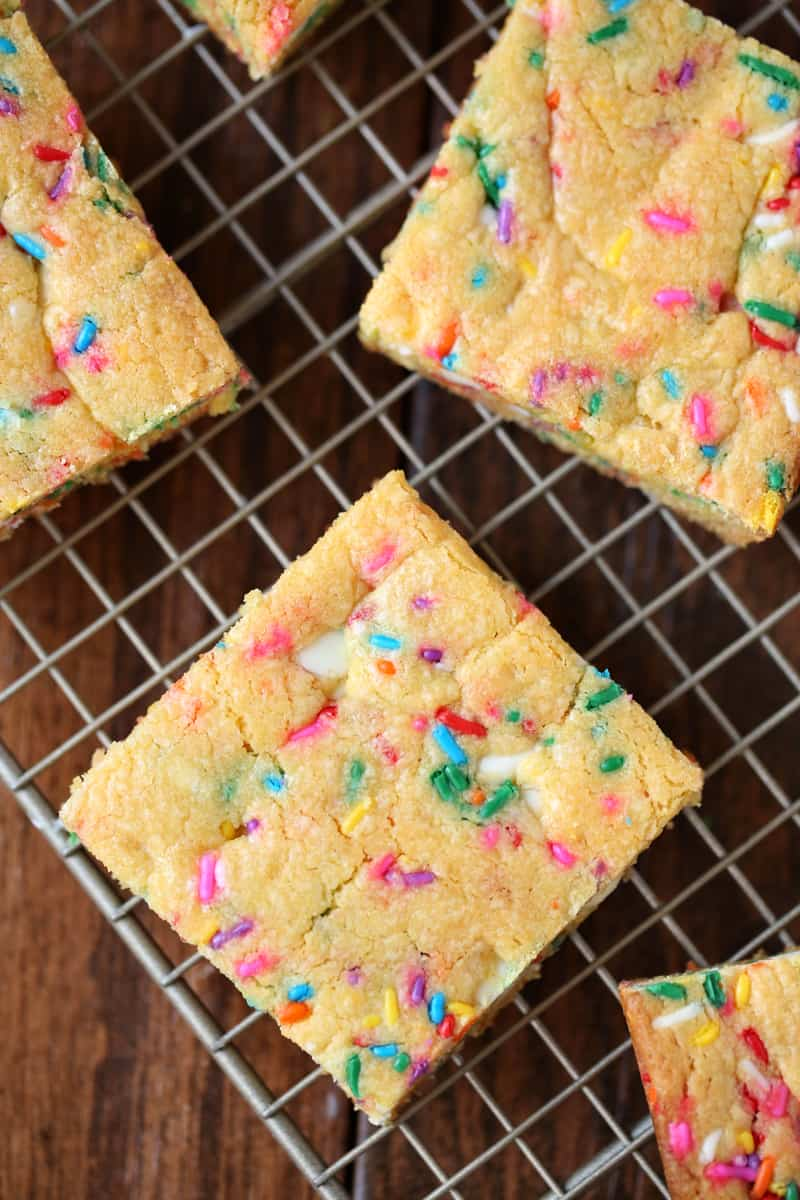 Confetti Bars - Easy Recipe