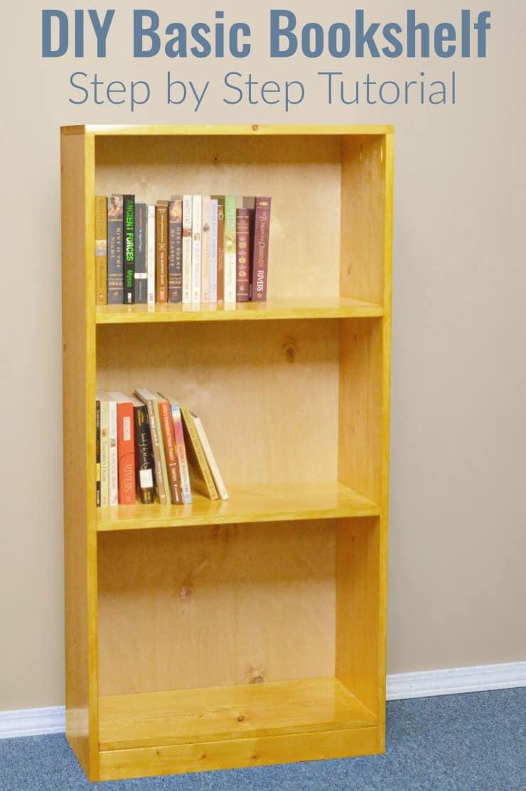 DIY Bookshelf Tutorial