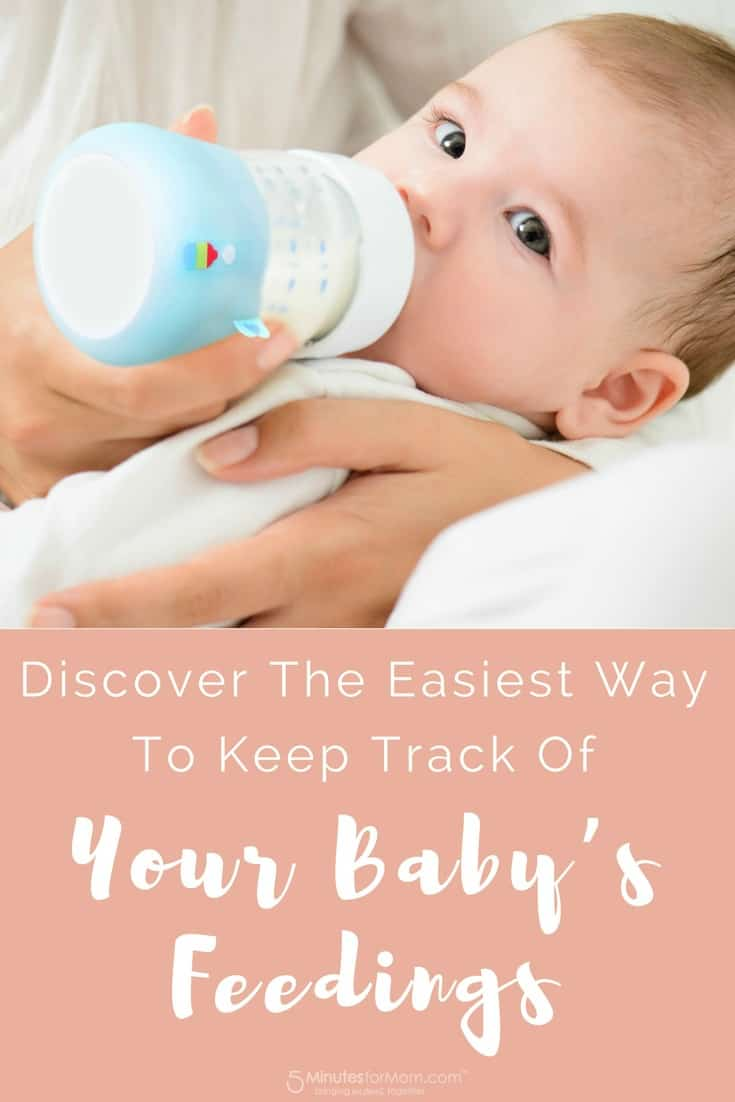 Discover the easiest way to keep track of your baby feedings