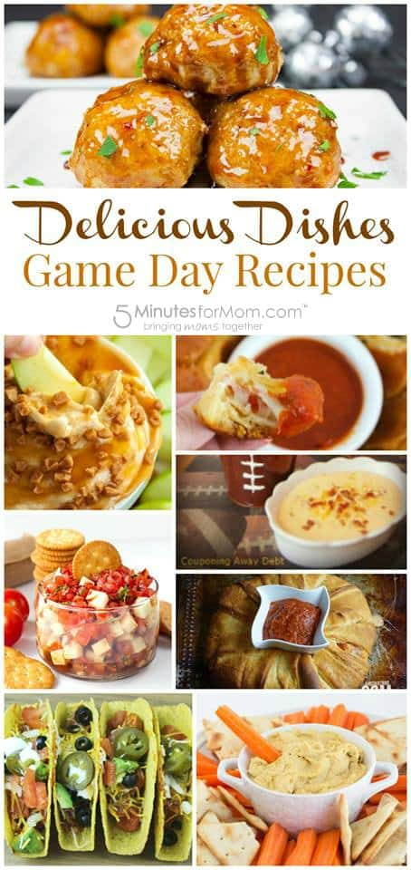 Game Day Recipes - Super Bowl Recipes