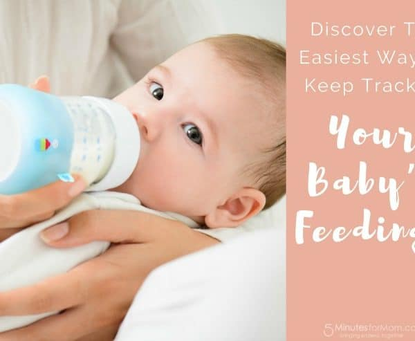 Discover The Easiest Way to Keep Track of Your Baby's Feedings
