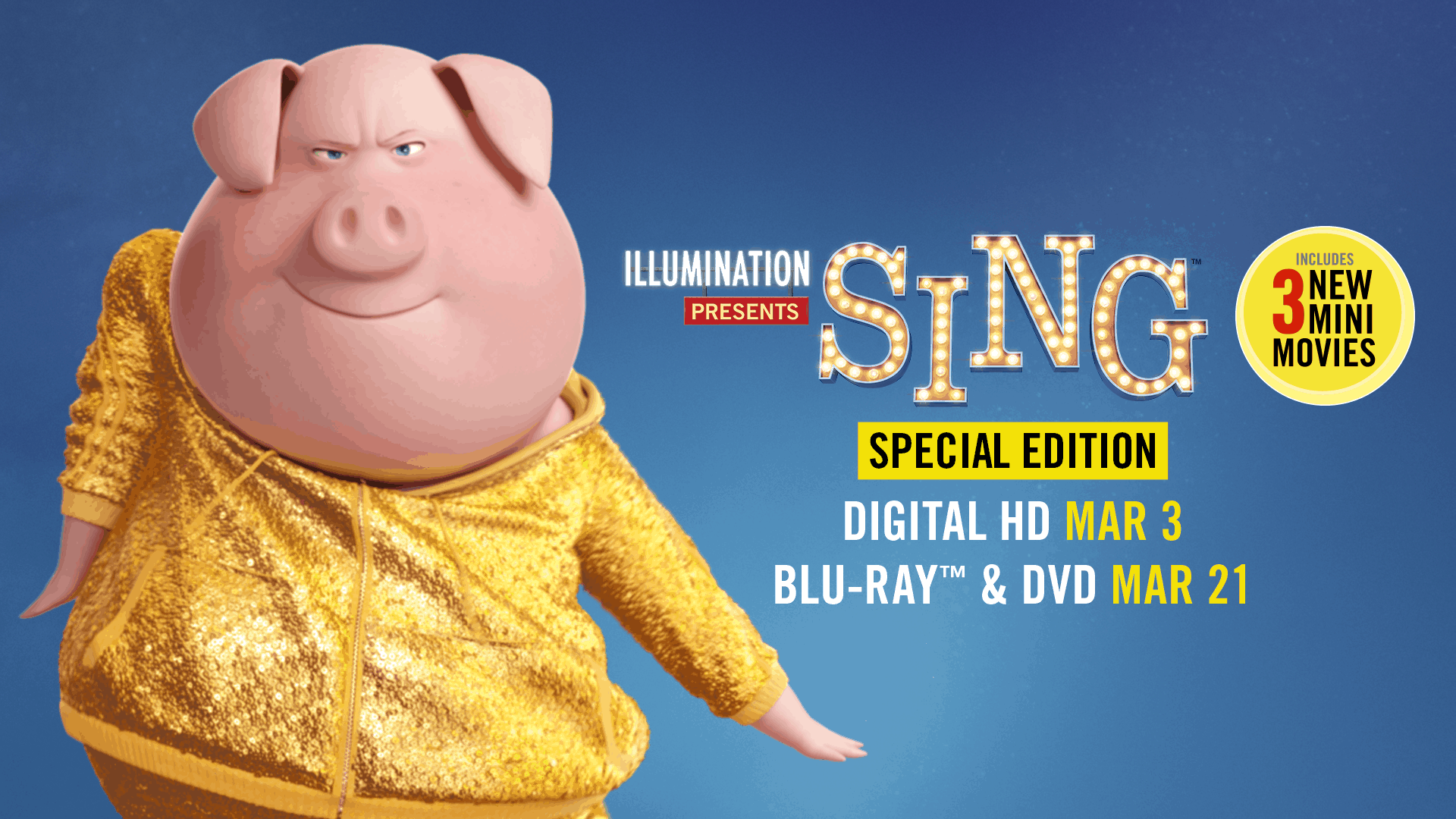 Sing Special Edition Dvd  Are You Ready To Sing