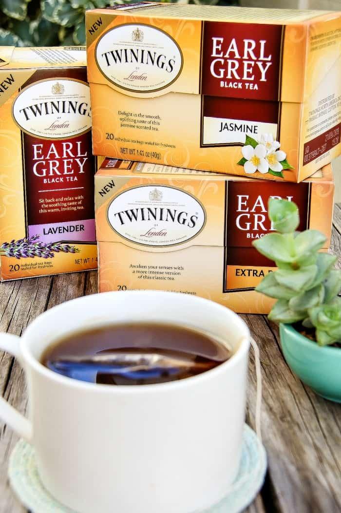 The art of Earl Grey tea including three new flavors from Twinings