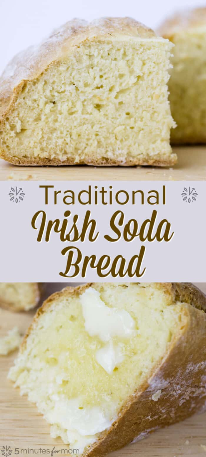 Irish Soda Bread - Traditional Irish Soda Bread Recipe and History #sodabread