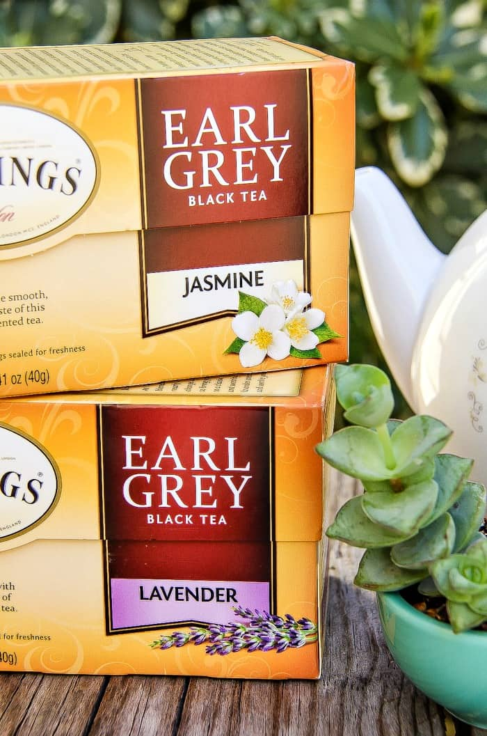 Twinings now have Earl Grey Jasmine and Earl Grey Lavendar tea