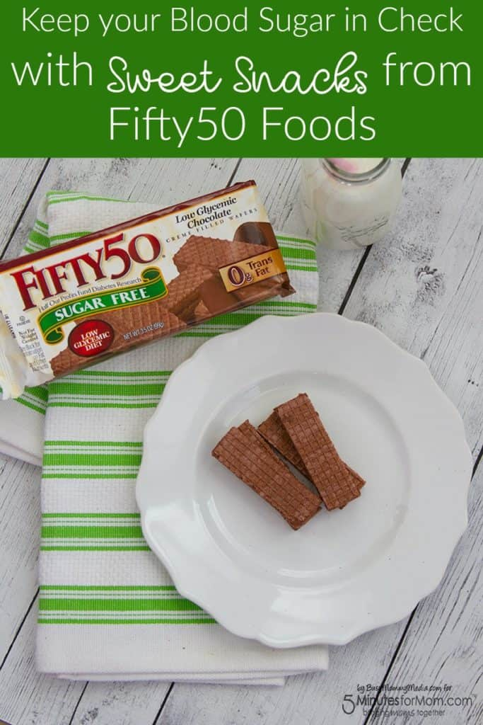 Keep your Blood Sugar in Check with Sweet Snacks from Fifty50 Foods