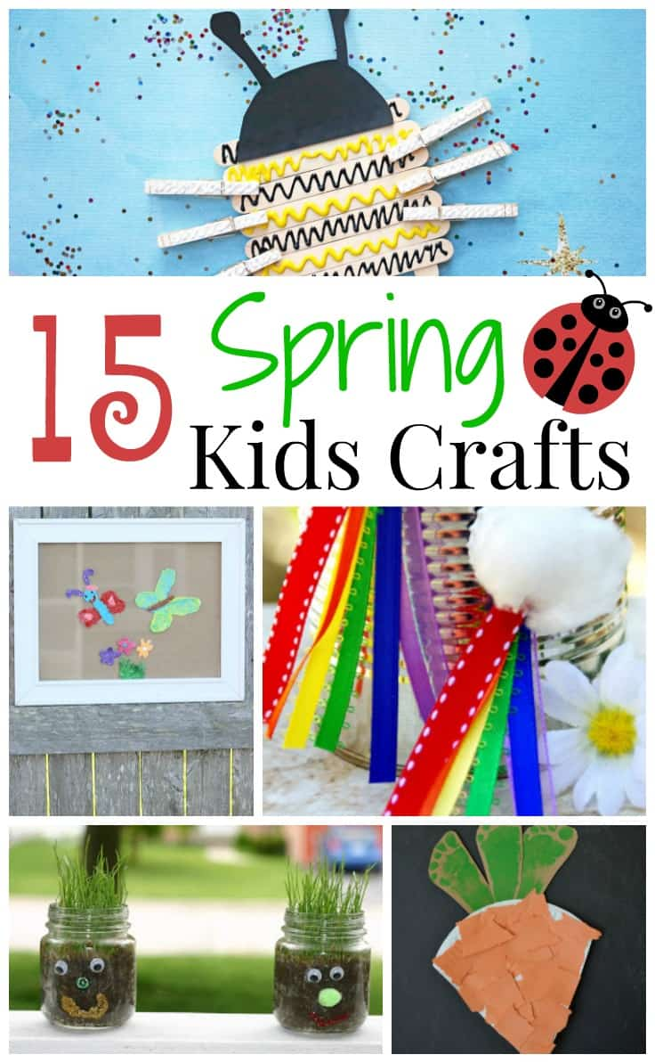 15 Fun And Easy Sewing Projects For Kids: 15 Fun Spring Kids Crafts