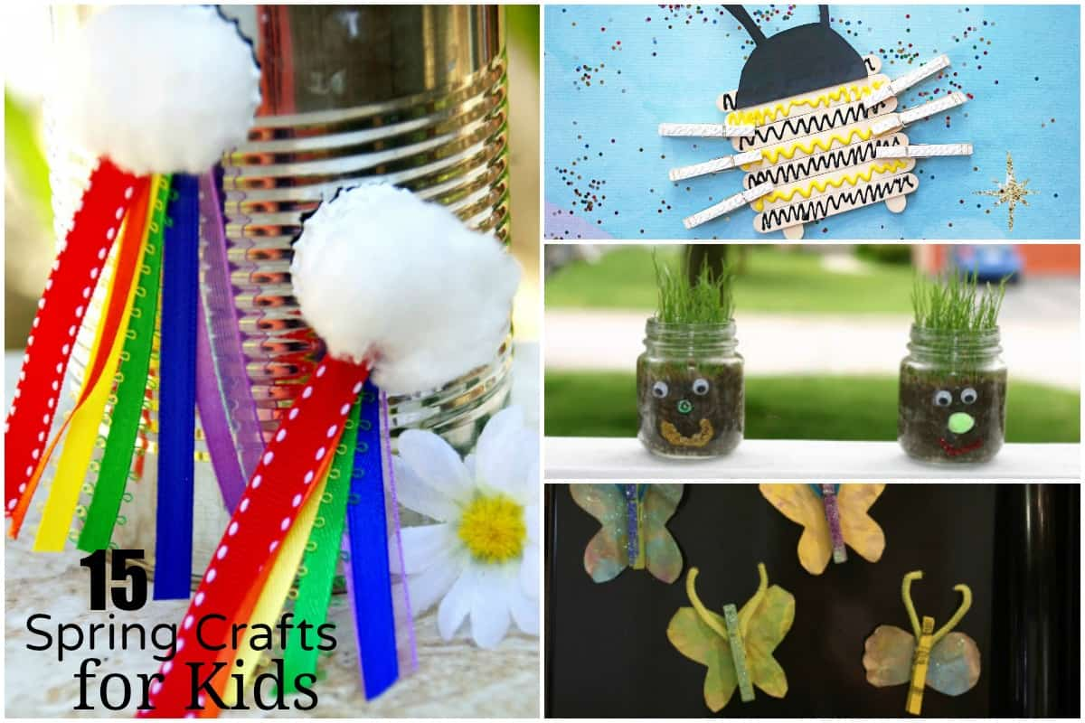 15 Fun Spring Kids Crafts