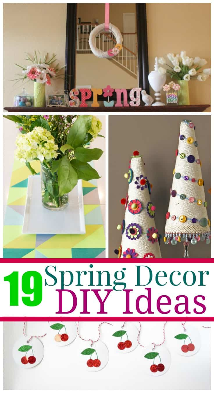 19 Diy Spring Decor Projects 5 Minutes For Mom