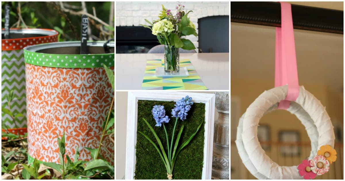 19 DIY Spring Decor Projects