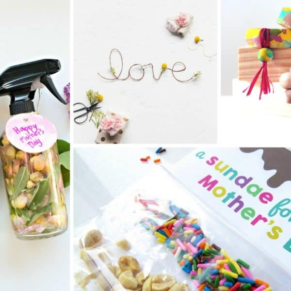 20 Creative Mother's Day Gifts Kids Can Make