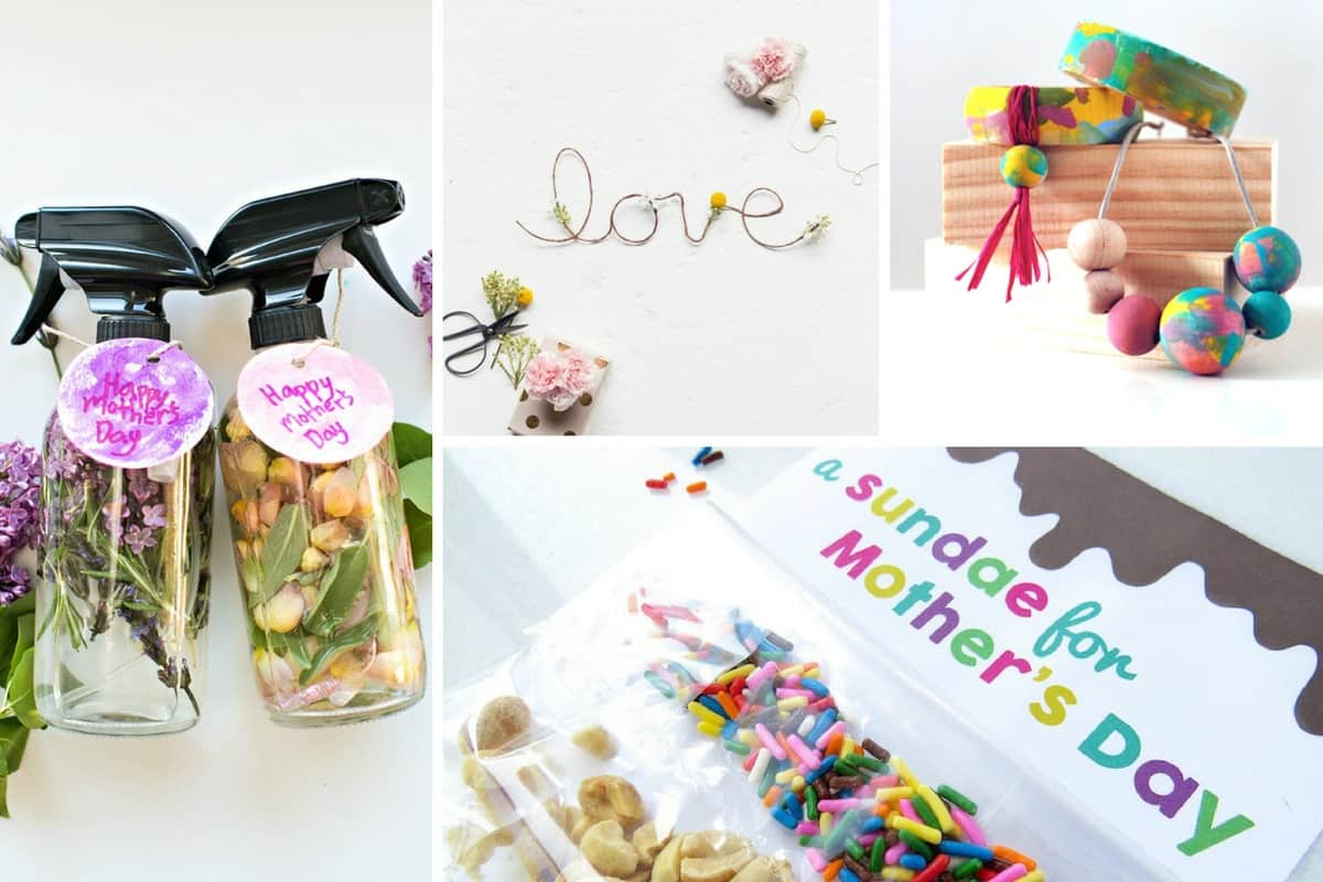 20 Creative Mother 39 S Day Gifts Kids Can Make