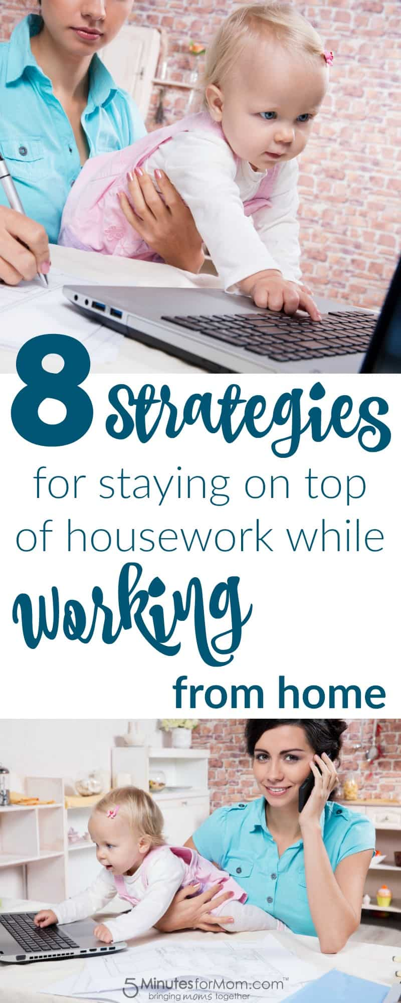 8 Strategies for Staying on Top of Housework While Working from Home