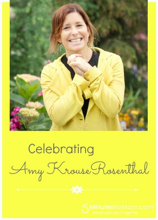 Celebrating Author Amy Krouse Rosenthal
