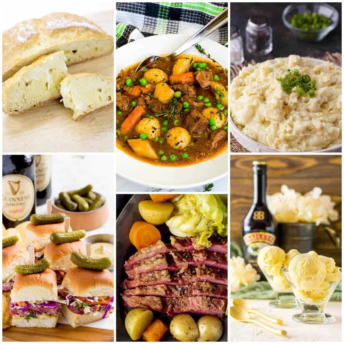 Collection of St Patricks Day Recipes