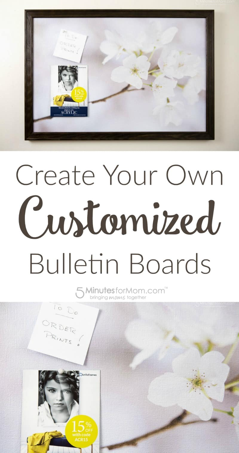 Create Your Own Customized Bulletin Boards