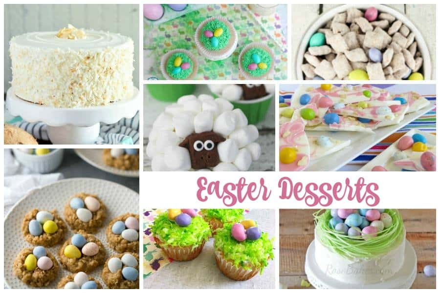 Easter Desserts Delicious Dishes