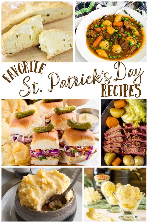 Favorite St Patricks Day Recipes