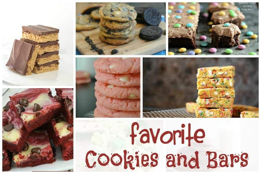 Favorite cookies and bars