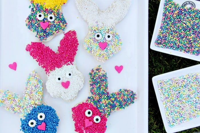 How to make fun spring bunny treats for kids this Easter