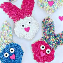 How to make spring bunny treats - Easter Fairy Bread
