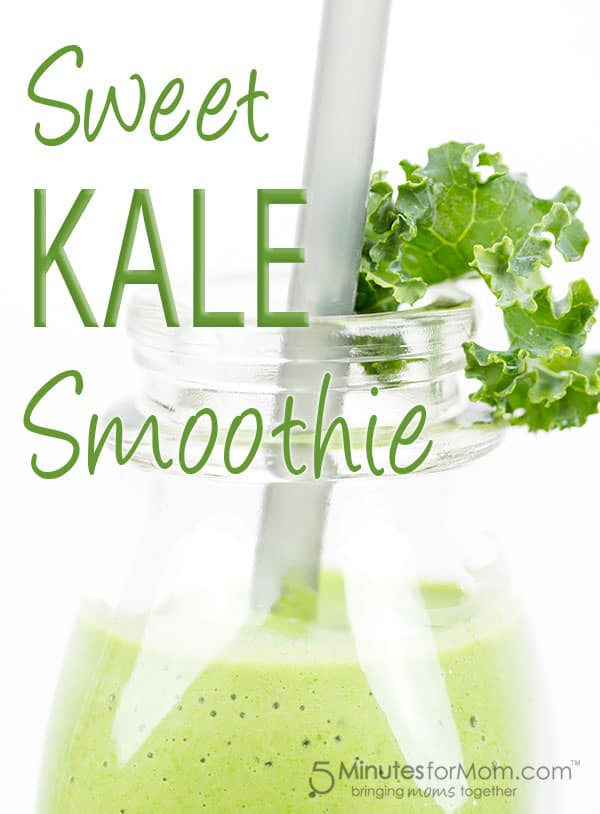 sweet kale smoothie