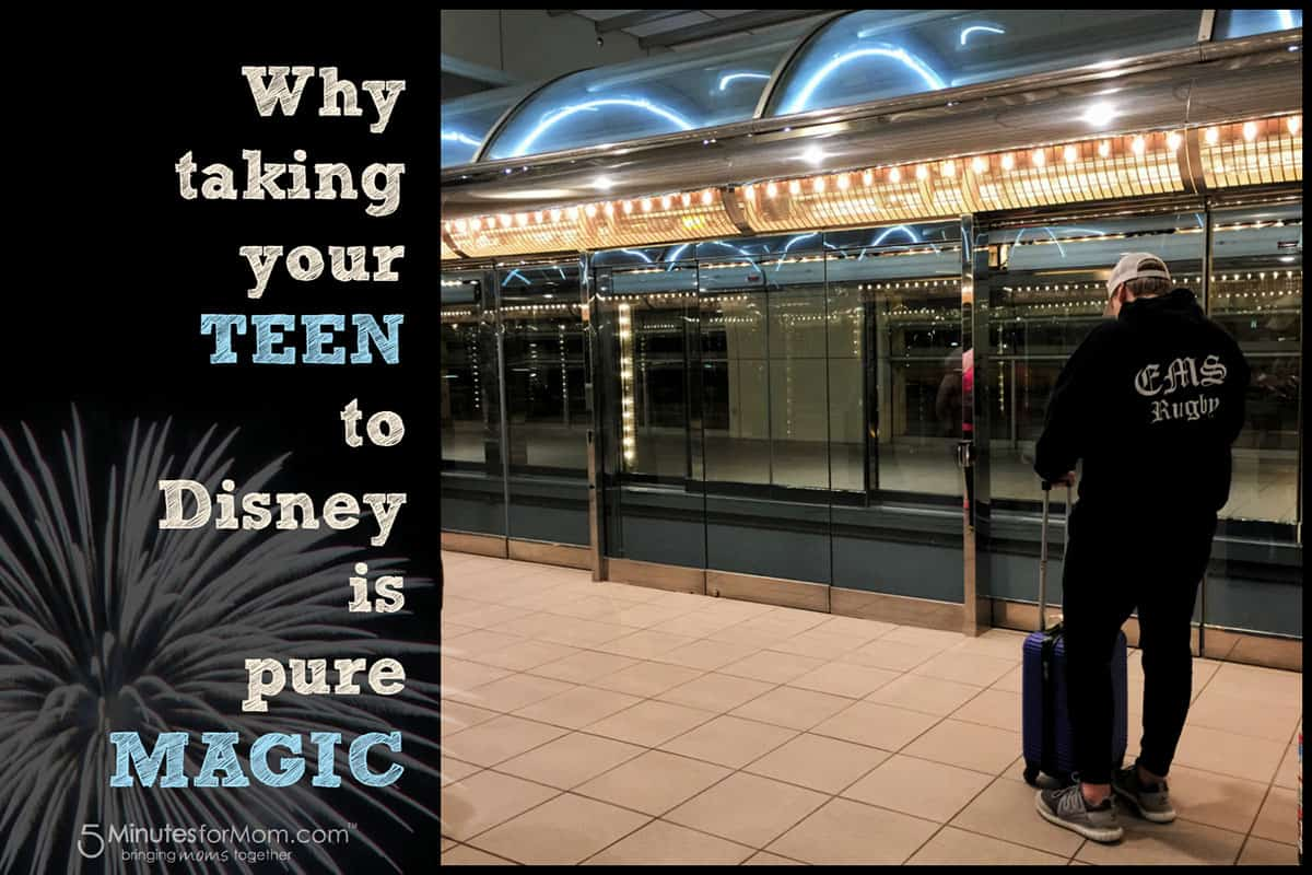 Traveling with Teens to Disney