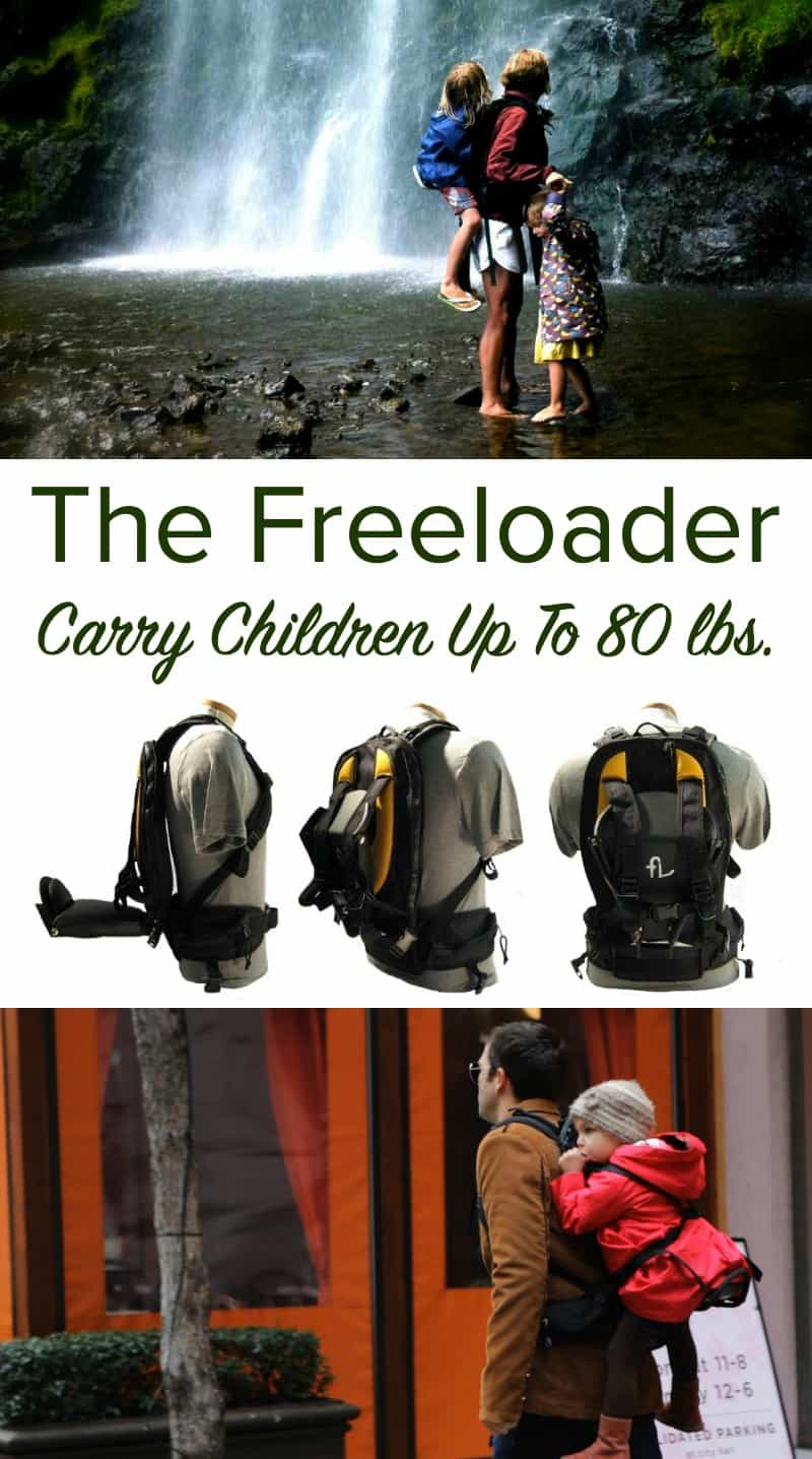 The Freeloader - Carry Children Up To 80 lbs
