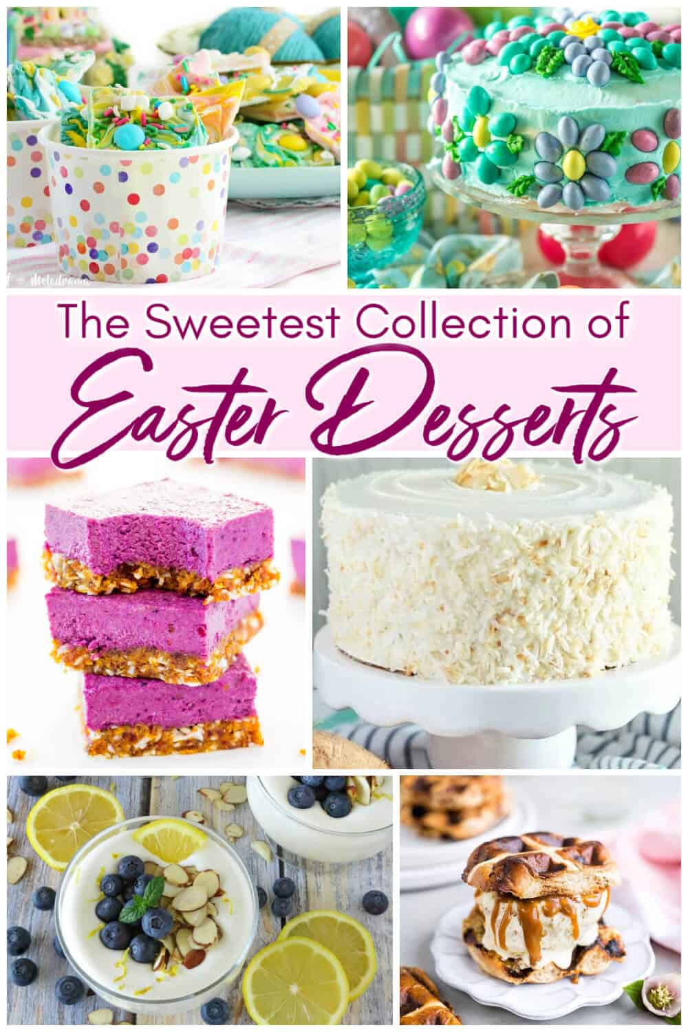 The Sweetest Collection of Easter Desserts