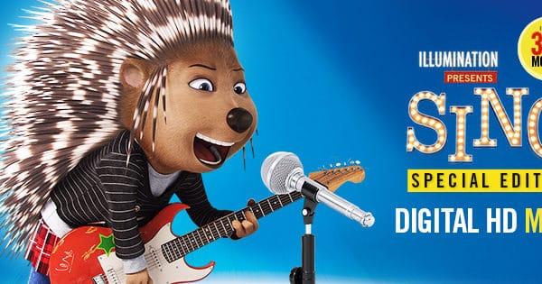 Watch SING tonight on Digital HD #SingMovie #SingSquad