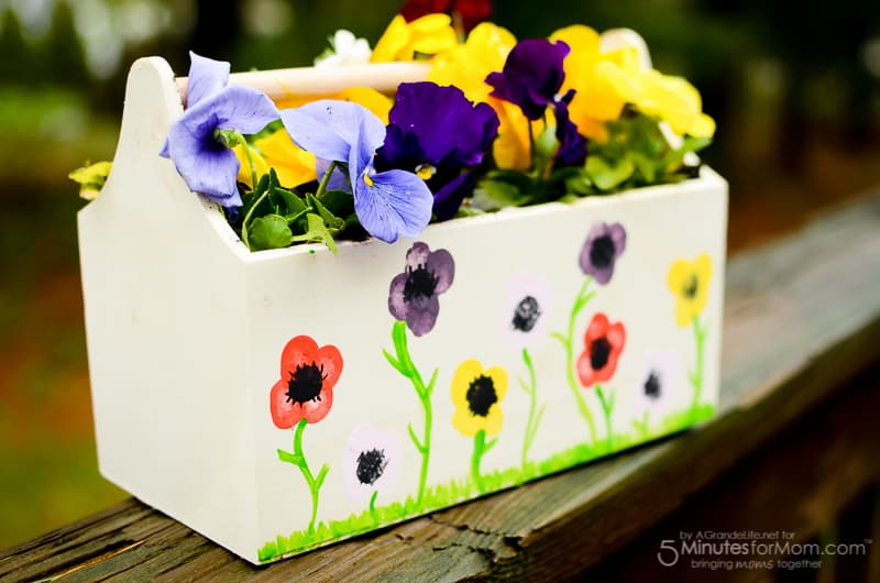 Thumbprint Planter - DIY Mother's Day Gift Kids Can Make