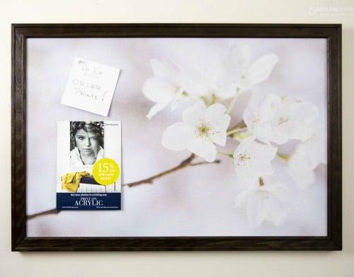 Art to Frames Bulletin-Board